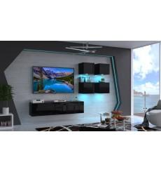 Ensemble meuble TV FIONA N44 224 cm en plusieurs couleurs