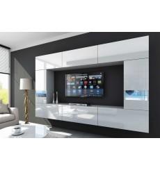 Ensemble meuble TV LEJDA 249 cm en plusieurs couleurs