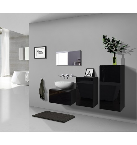 Meuble salle de bain ALIUS 39 en plusieurs couleurs