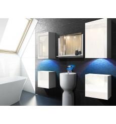 Meuble salle de bain ALIUS 17 en plusieurs couleurs