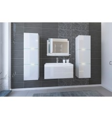 Meuble salle de bain IBIZA II 80 blanc