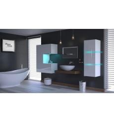 Meuble salle de bain ALIUS 52 en plusieurs couleurs