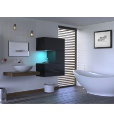 Meuble salle de bain ALIUS 46 en plusieurs couleurs