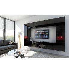 Ensemble meuble TV CONCEPT 29-29/HG/B/1 noir brillant 249 cm