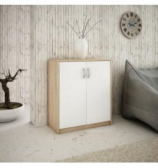 Petite armoire 2 portes TROMSO 74x85 cm