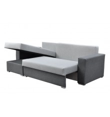 Canapé d'angle convertible Billy 236 x 140 cm