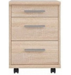Caisson bureau 3 tiroirs NOZE 40x46 cm