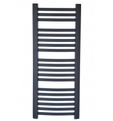 radiateur eau chaude Rubin graphite 1100 w