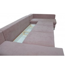 Canapé d'angle convertible Goergia 340x160 cm