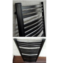 radiateur eau chaude NERO noir 660w