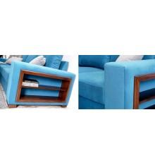 Canapé d'angle convertible London 235x165 cm