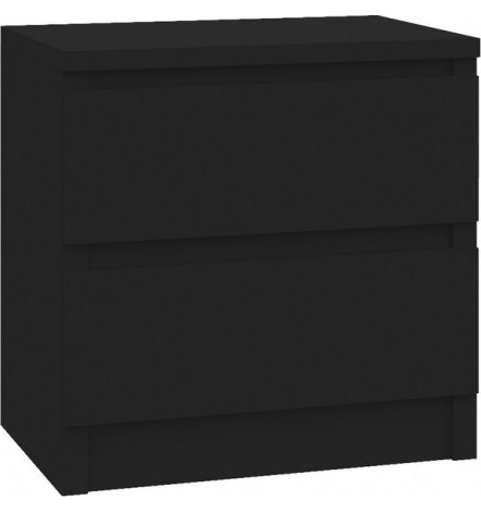 Table de chevet à tiroir ROSALIE 40x30 cm noir