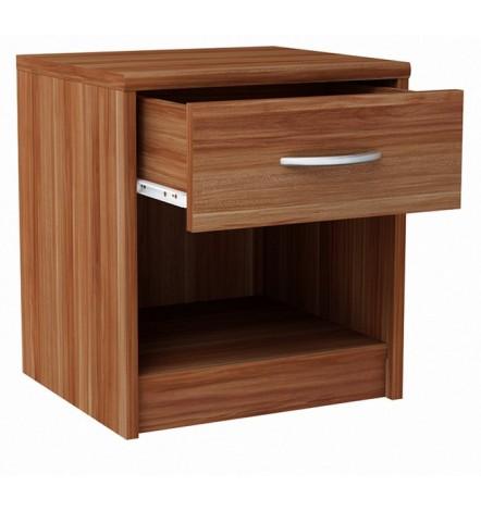 Table de chevet WENDY 45x39 cm en acajou