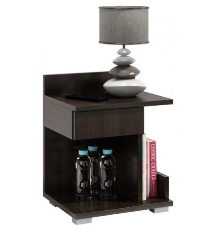 Table de chevet ROMY 40x50 cm wengé
