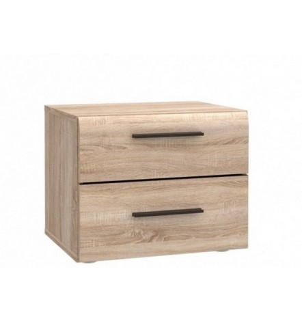 Table de chevet à tiroir JADE 45x37 cm