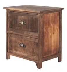 Chevet à tiroir en bois STELLA 45x47 cm