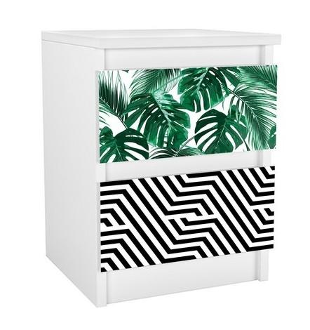 Table de chevet à tiroir ANAIS 40x30 cm