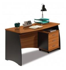 Bureau ENZO 3 tiroirs 138 cm