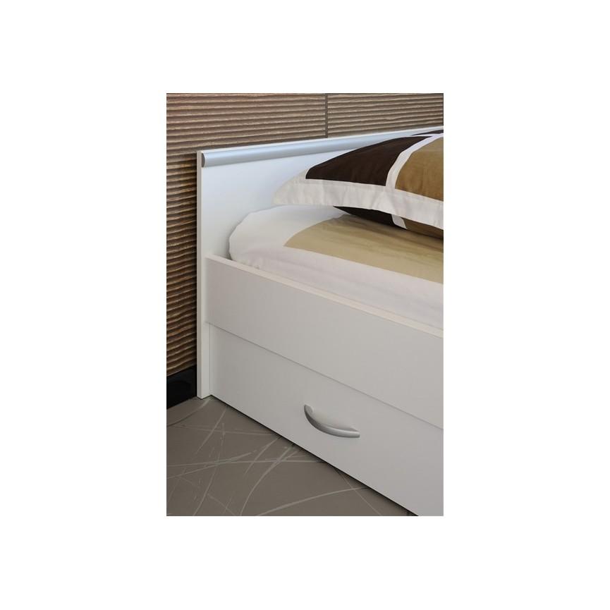 lit avec tiroir de rangement caro 140x200 cmsur notre. Black Bedroom Furniture Sets. Home Design Ideas