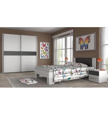 Chambre complète LILIA 140 cm