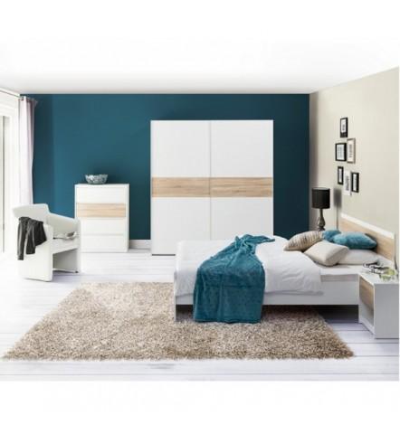 Chambre complète VENICE 160 cm