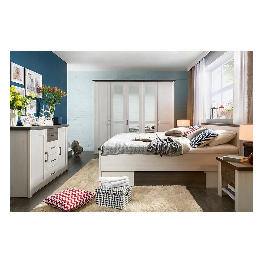 Lit avec tiroir de rangement LUCA 140x200 cmsur notre boutique en ligne de meuble design