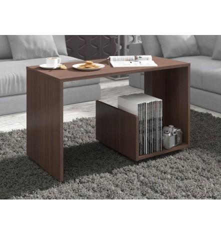 Table basse design PAULA en Wengé