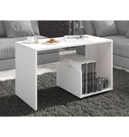 Table basse design PAULA en blanc