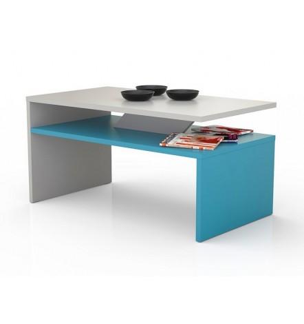 Table basse PRIMA Bicolore  bleu