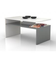 Table basse PRIMA Bicolore  gris