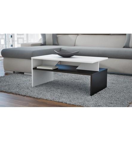 Table basse APONI Bicolore  noir