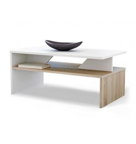Table basse APONI Bicolore  chêne