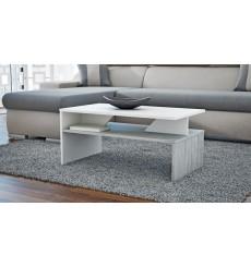 Table basse APONI Bicolore béton