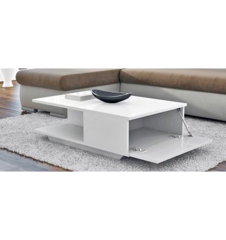 Table basse ASPEN  avec niche et rangement