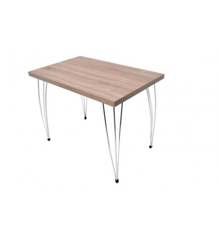 Table à manger NARPES 60x90 cm chêne