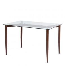Table à manger en verre LAPPO 120 cm
