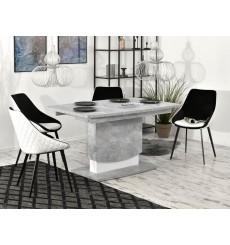 Table à manger extensible CORINTHE 138-183 cm