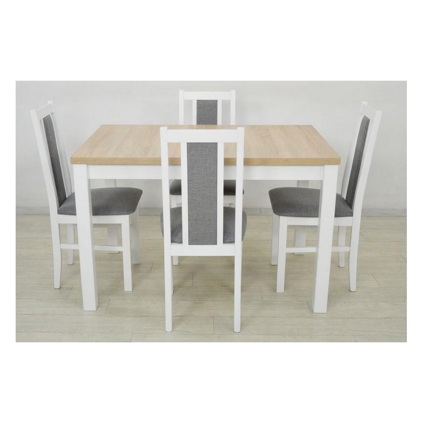 Et À Ensemble Extensible Massif Bois Table En Manger 4 Structure mNn80w