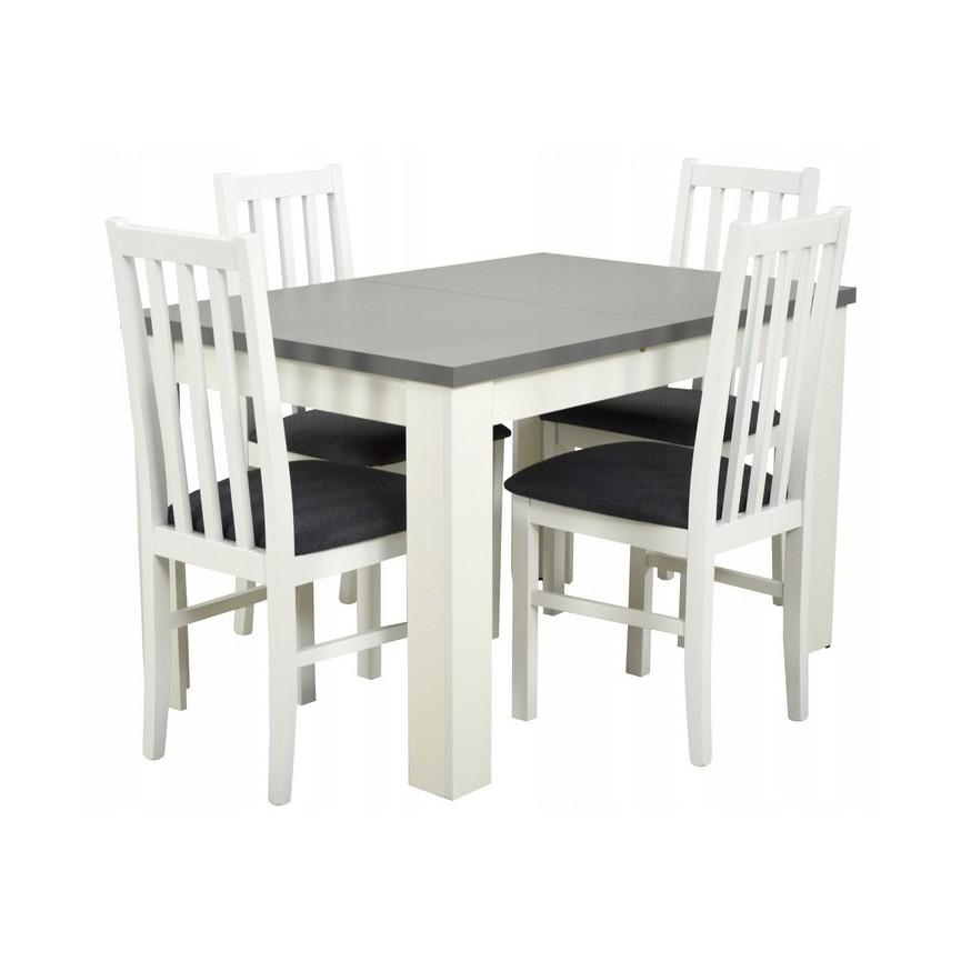 Chaises Ensemble Chalssis Table Et Manger Extensible Sur À 4 Notre O0wvm8nN