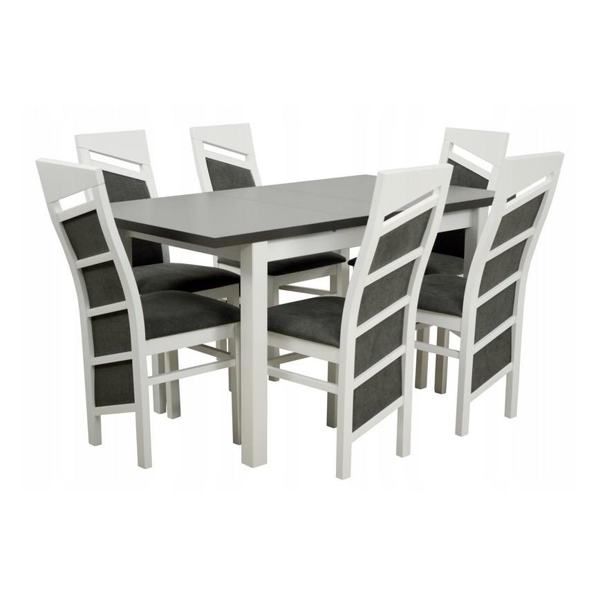 Manger Cm Ovale Massif En Structure Bois À Extensible Table Ensemble xChdtsQr