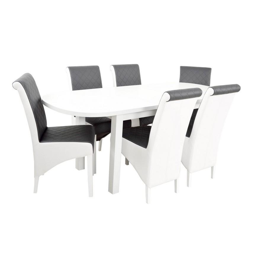 Ensemble Table A Manger Extensible Et 6 Chaises Rafa Sur Notre