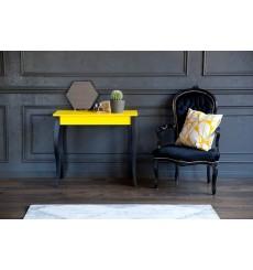 Console LILLO 65 cm en jaune et noir
