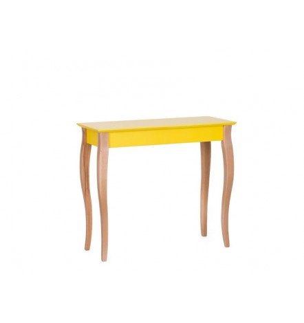 Console LILLO 85 cm en jaune
