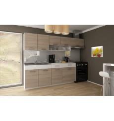 Cocina de roble TatianA set 240 cm