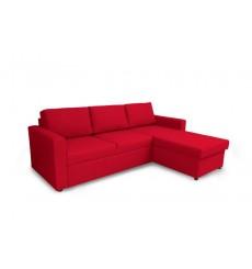 Canapé lit réversible Sueno 230x160 cm rouge