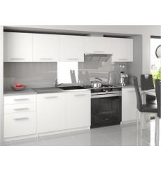 ADRIEL Juego de cocina blanca 240 cm