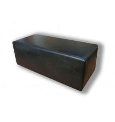 Banc, bout de lit  en similicuir  80x40x43 cm