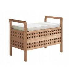 Banc, bout de lit  avec rangement 70x50x37 cm