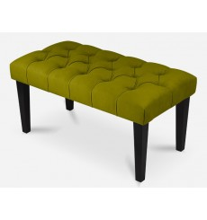 Banquette, bout de lit olive 80x40x40 cm