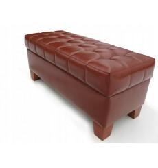 Banc, bout de lit avec coffre de rangement FINELLI 97x49x48 cm